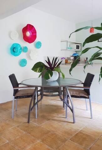 Fresca y cómoda habitación