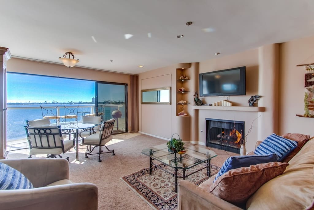 Nancy S Bayview Condo On The Sand Balcony Bikes Condominiums For Rent In San Diego