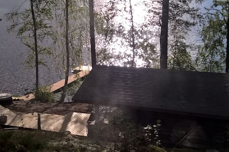 A new holiday house on the lake in Hämeenlinna - Hämeenlinna - 別荘