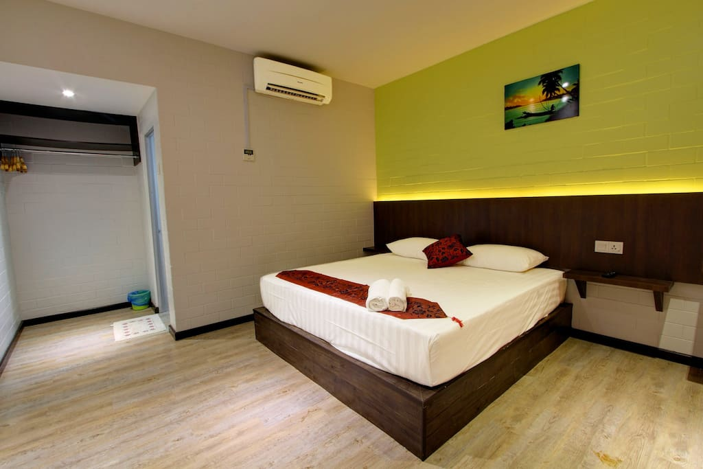 Deluxe King Bedroom Interior 2