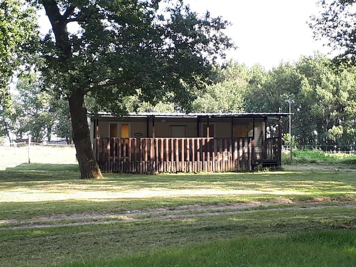 Location de Mobil-Home dans camping à la ferme
