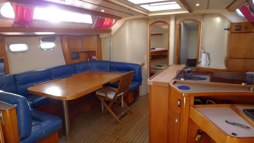 Votre sejour a bord de notre voilier de 15 metres - Cagliari - Boot