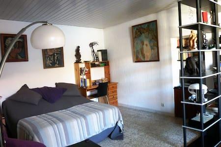 Studio lumineux en plein cœur de la cité d'Agde - Agde - Apartment