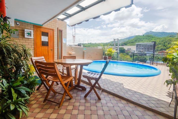 Pent-house con piscina en el centro de San Gil