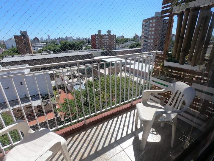Departamento 1 habitación + balcón Familiar
