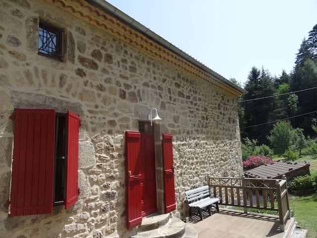 Gîte parc naturel du Pilat - Thélis-la-Combe - Appartement
