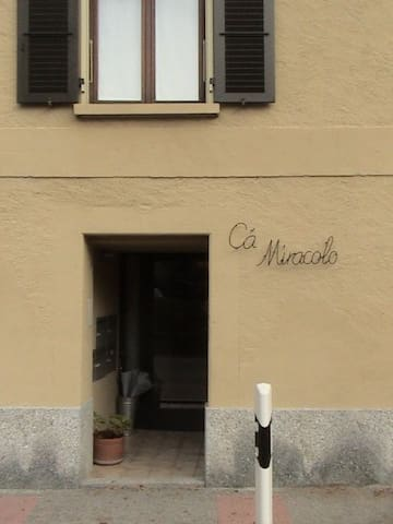 Ca Miracolo: a house for a big family vacation - Camignolo - Appartement