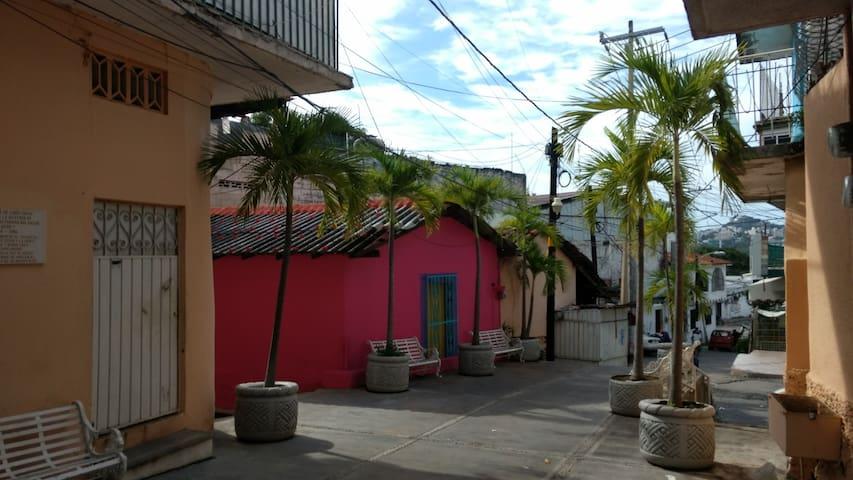 Agradable casita en el Acapulco tradicional