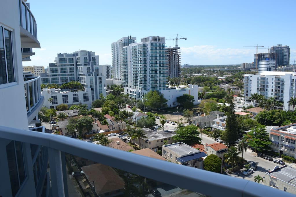 View of Wynwood and Design District