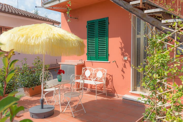 Apartment with 2 bedrooms in Borgo A Buggiano, with furnished terrace and WiFi - 51 km from the beach