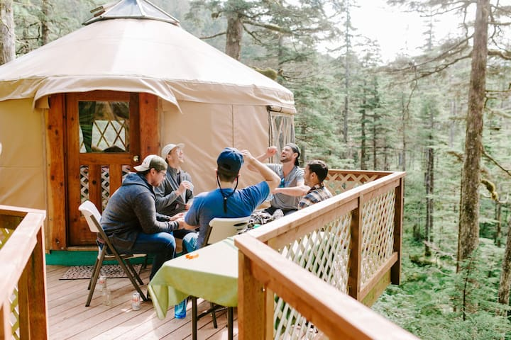 Adventure Package: Yurt, Boat Tour & Kayaking #2