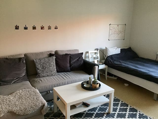 Cosy flat 5 min to Gothenburg city