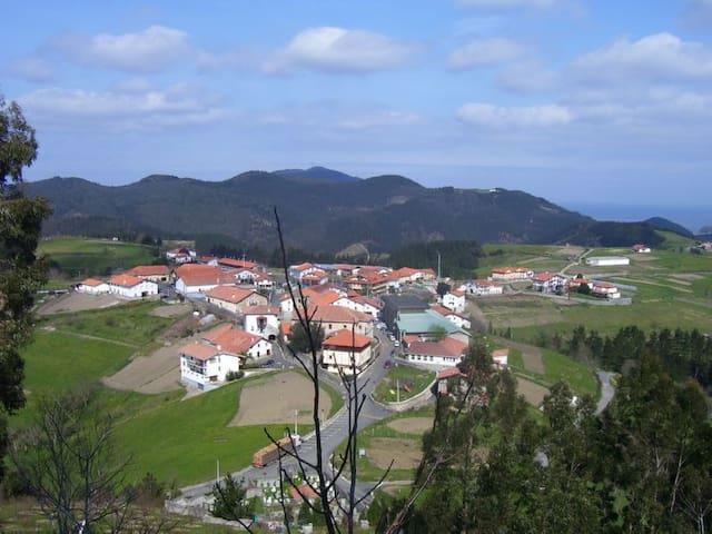 Casa rural Altuena costa vasca BilbaoSan Sebastian - Amoroto - Rumah