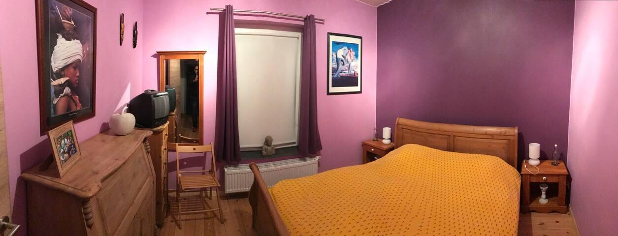Belle chambre privée à Thuin - Gozée  - Dom