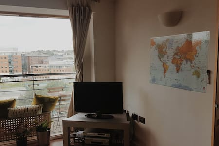 Private double bedroom in the city centre - 公寓
