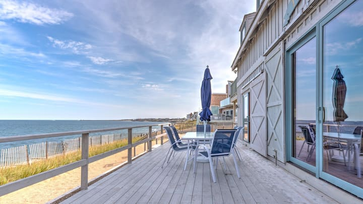New listing: Live your best life steps from the beach in this classic Montauk beach house!