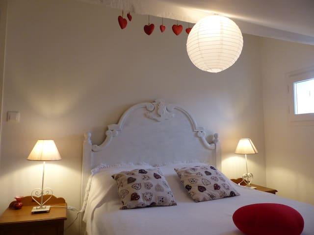 Chambre rouge (étage)
