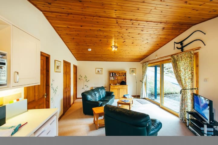 The Fisher has a large open plan living area