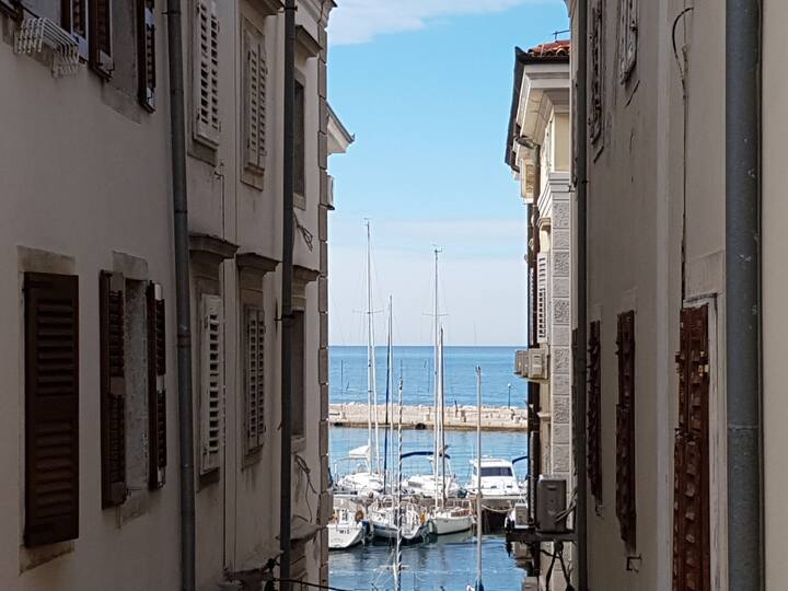 Seaview Romantic Apartment - Heart of Piran