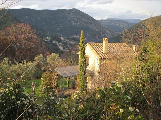 Petit cabanon provençal indépendant - Nyons - Casa