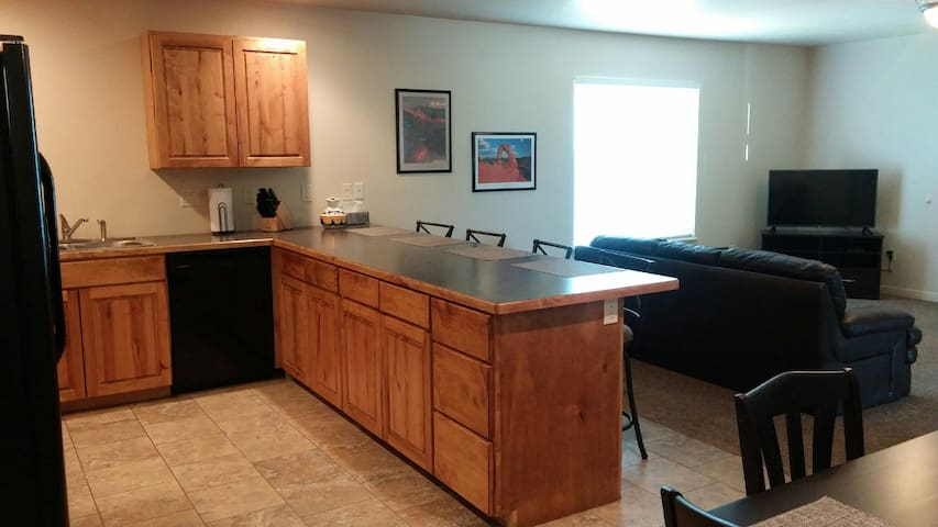 Another view of spacious kitchen