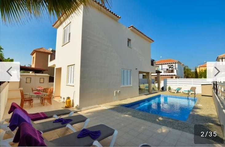 Agia Napa 3 bedroom villa with swimming pool
