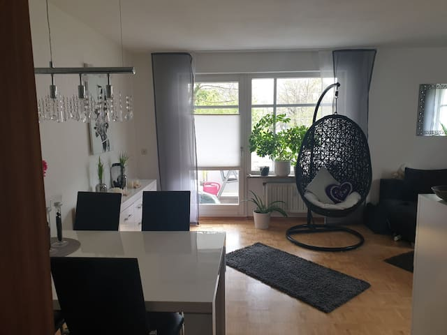 complete cozy flat-> 20 min MUC Central Station