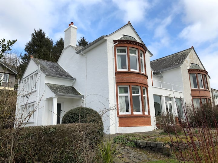 Kippford arts and crafts house with stunning views