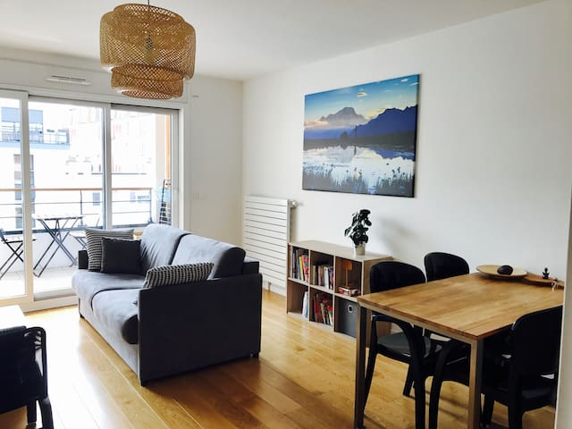 Feels like home in Paris :) (up to 4 people) - Issy-les-Moulineaux - Apartment