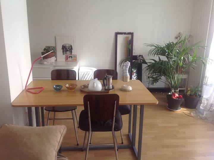 Cosy Flat, 29m2, close to the Canal de L'Ourcq