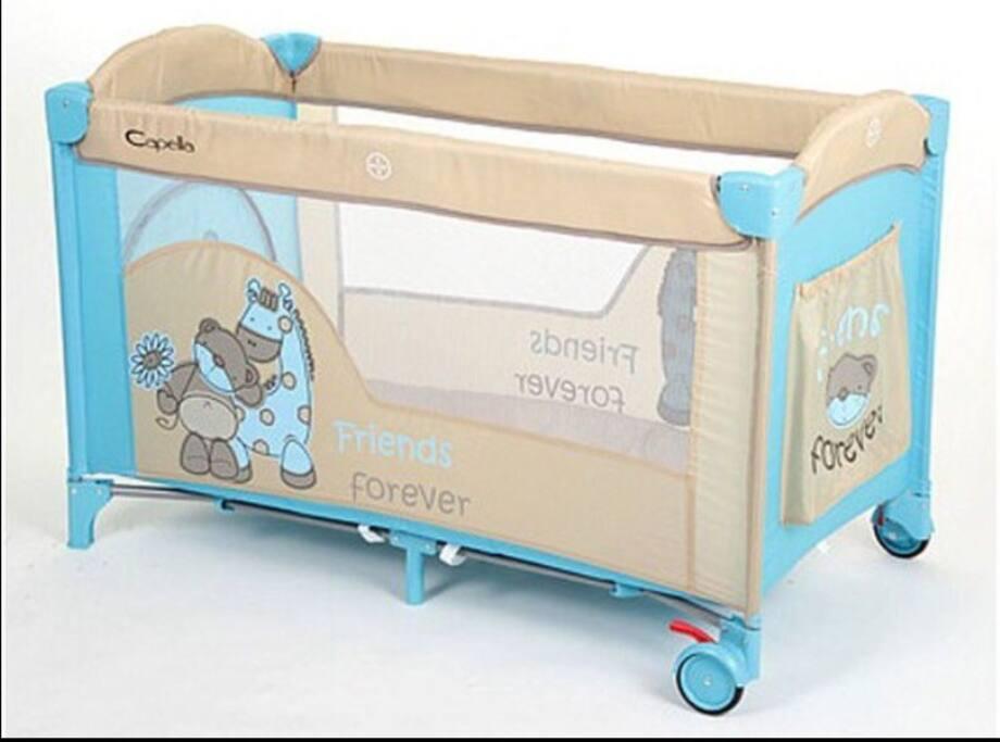 Для вашего малыша кроватка манеж