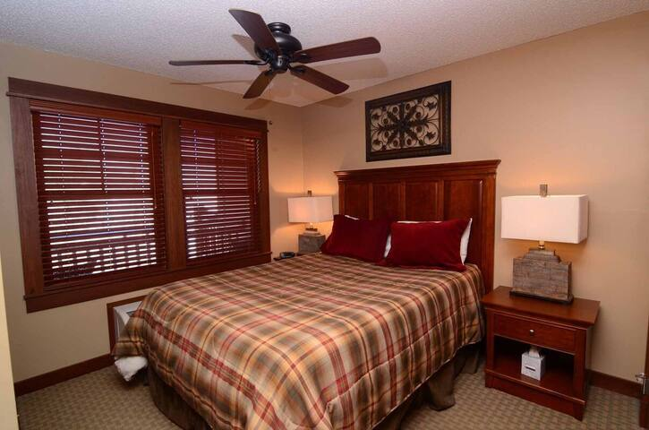 A215- Lake view suite w/ one bedroom, private balcony!