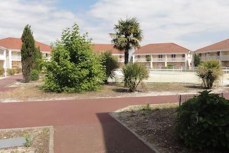 Appart RdC PMR résidence tourisme piscine chauffée - Le Verdon-sur-Mer - Daire
