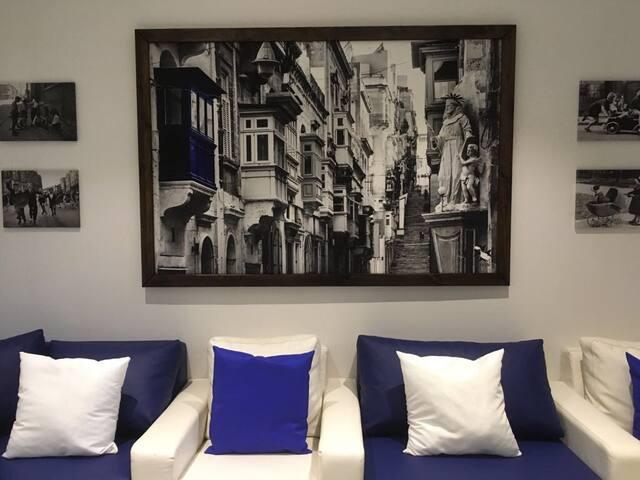 Que-Ella Town House Malta - Floriana - Casa