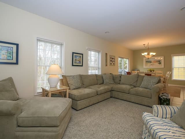 Living Room with Plenty of Comfortable Seating at 41 Bradley Beach
