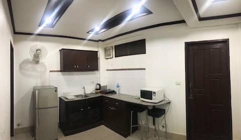 Entire private bedroom, bathroom and kitchen