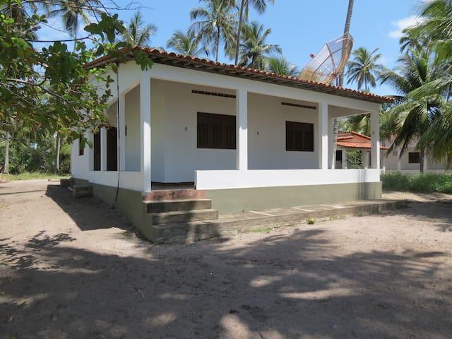 Casa Mobiliada. Beira Mar. 3/4. Peroba - Maragogi. - Maragogi - House