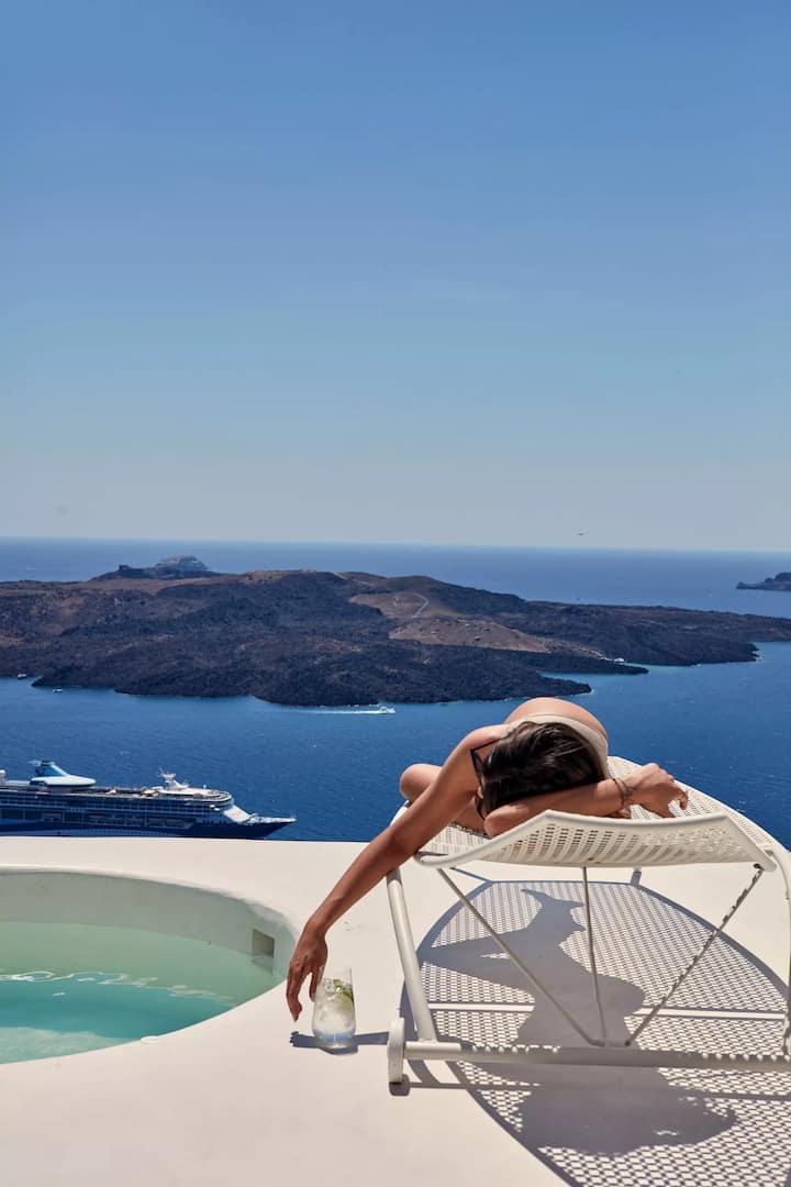 Suite Honeymoon | Hot Tub & Caldera View