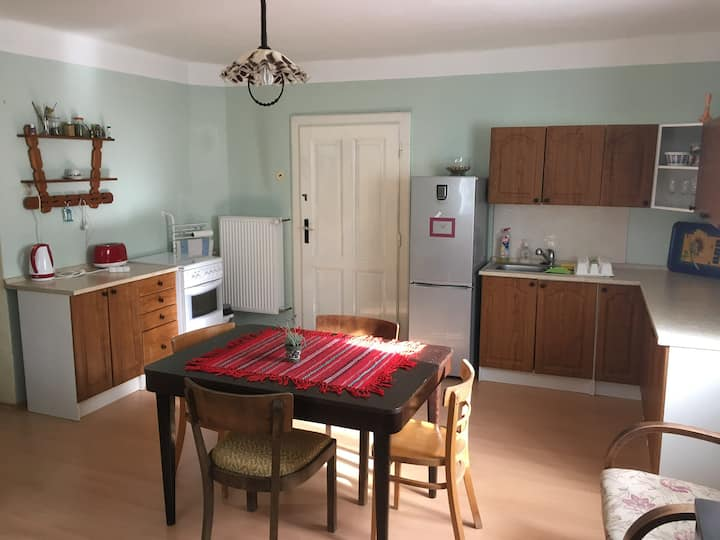 Spacious, quiet and private accommodation in house