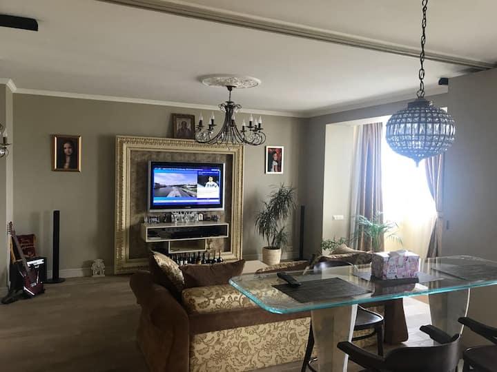 luxury city view apartment