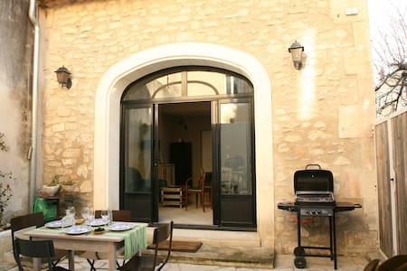 Maison de charme-patio centre ville - Saint-Rémy-de-Provence - Rumah