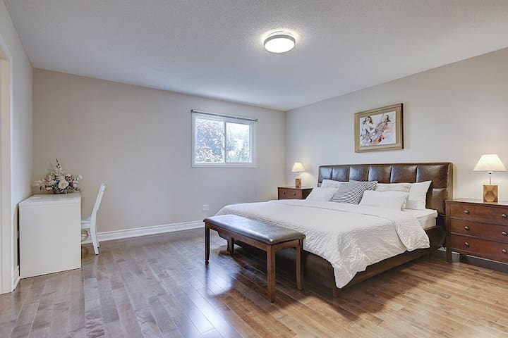 Master Bedroom with Luxurious Full Bath