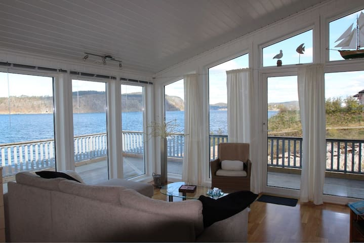 Cabin with great view & facilities - Kragerø