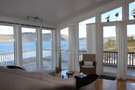 Cabin with great view & facilities - Kragerø - キャビン