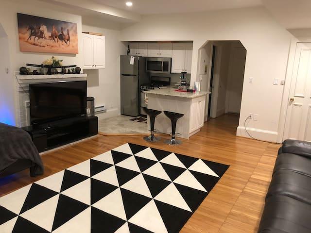Heart of Boston - Beautiful BackBay Private Studio
