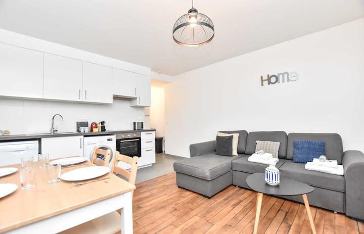 Sublime apartment 6P - Belleville / Menilmontant
