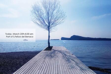 Villa con piscina e giardino privato - Lake Garda - San Felice del Benaco - วิลล่า
