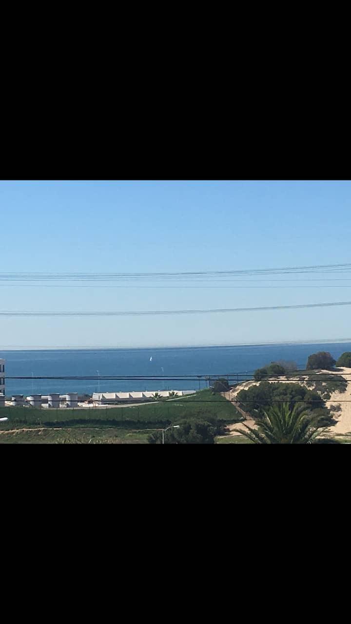 Ocean View, Private Studio,1/2 mile to beach & LAX