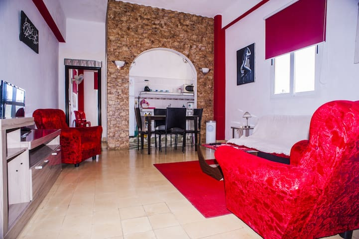 Sala de estar y zona de comedor