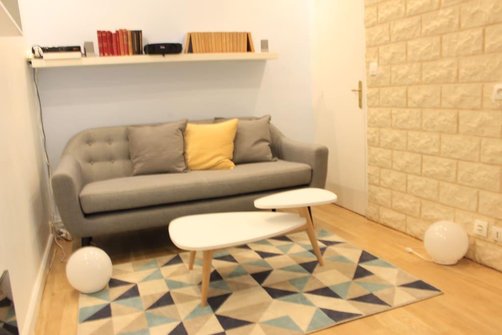 salon cosy et design !